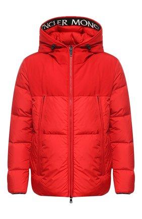 Пуховая куртка Montclar на молнии с капюшоном | Фото №1