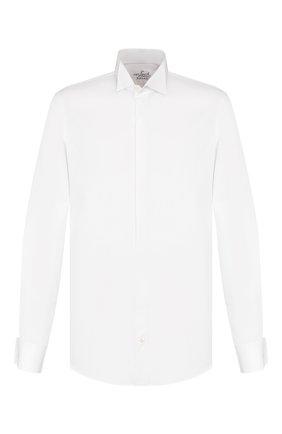 Мужская хлопковая сорочка VAN LAACK белого цвета, арт. GALA-DSF/130648 | Фото 1