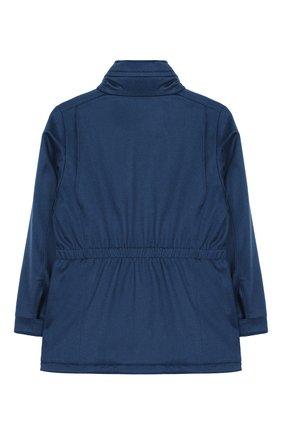 Кашемировое пальто с воротником-стойкой | Фото №2