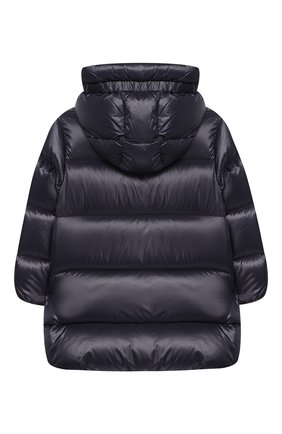 Детского пальто с капюшоном MONCLER ENFANT синего цвета, арт. D2-954-49930-49-53052/4-6A   Фото 2
