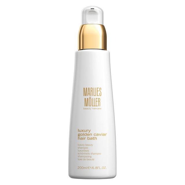 Шампунь для волос Luxury Golden Caviar Hair Bath Marlies Moller.
