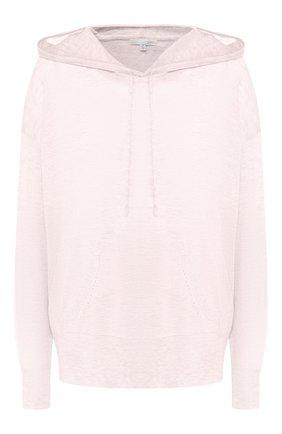 Пуловер с капюшоном из смеси шерсти и кашемира | Фото №1