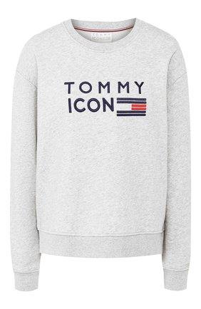 Пуловер с логотипом бренда | Фото №1
