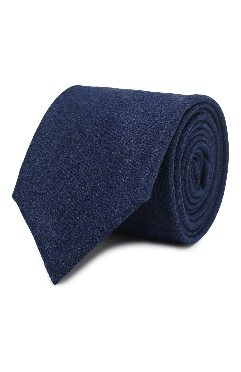 Мужской шерстяной галстук ANDREA CAMPAGNA синего цвета, арт. 757103/TIES | Фото 1