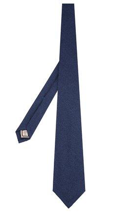 Мужской шерстяной галстук ANDREA CAMPAGNA синего цвета, арт. 757103/TIES | Фото 2