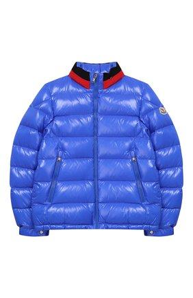 Куртка на молнии с воротником-стойкой   Фото №1