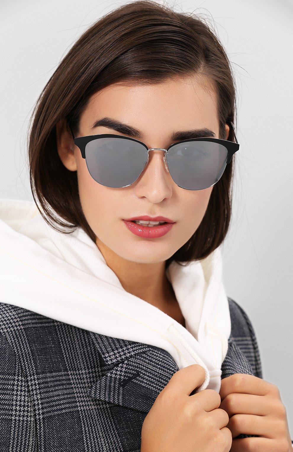 Женские солнцезащитные очки MCQ SWALLOW розового цвета, арт. MQ0106SK 002 | Фото 2