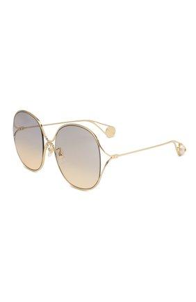 Женские солнцезащитные очки GUCCI золотого цвета, арт. GG0362 003 | Фото 1