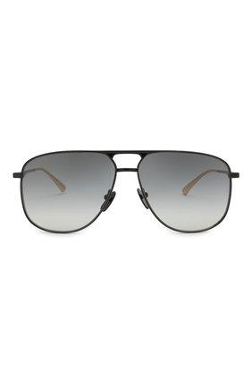 Мужские солнцезащитные очки GUCCI черного цвета, арт. GG0336 002 | Фото 2
