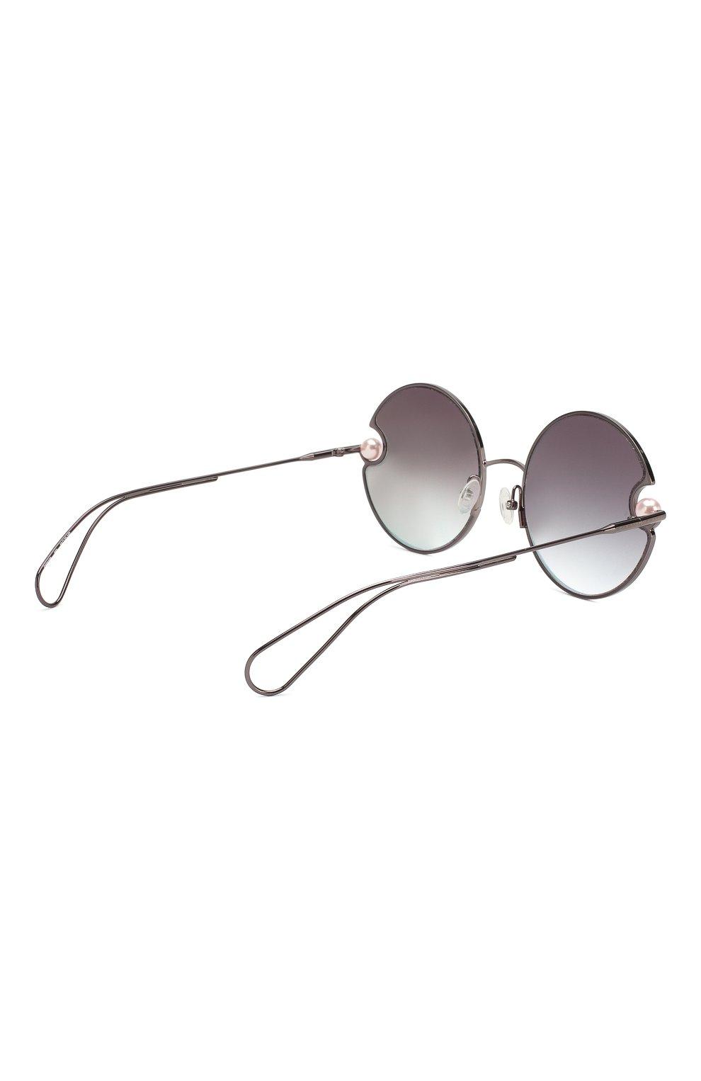 Солнцезащитные очки Christopher Kane розовые | Фото №4