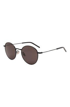 Женские солнцезащитные очки SAINT LAURENT черного цвета, арт. SL 250 001 | Фото 1