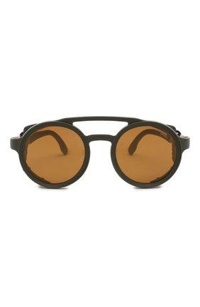 Мужские солнцезащитные очки CARRERA черного цвета, арт. CARRERA 5046 DLD   Фото 2 (Статус проверки: Проверена категория, Требуются правки; Тип очков: С/з)