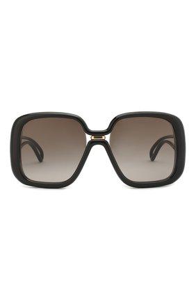 Женские солнцезащитные очки GIVENCHY черного цвета, арт. 7106 807 | Фото 3
