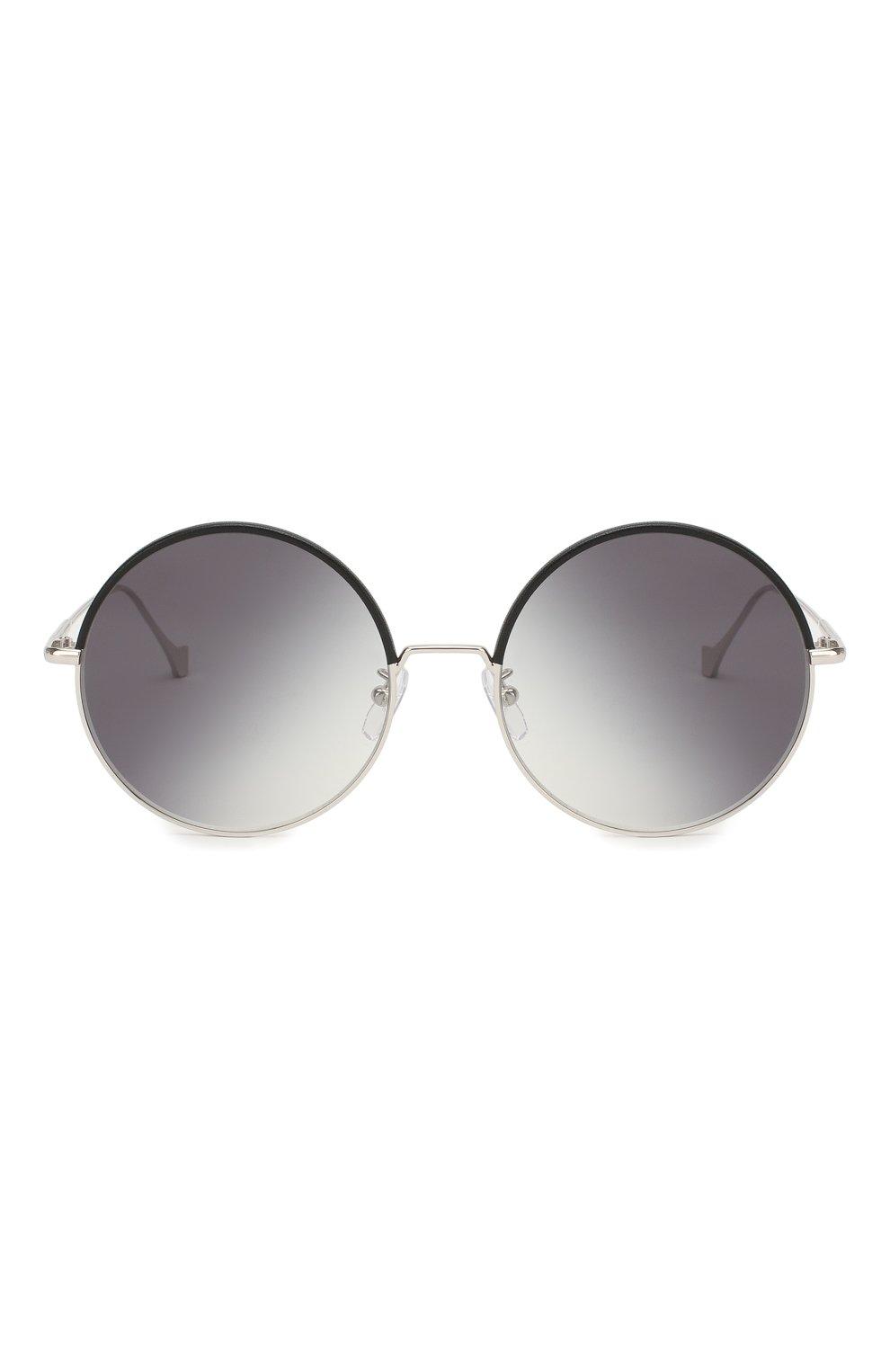 Женские солнцезащитные очки LOEWE серебряного цвета, арт. LW40008U 20B   Фото 2
