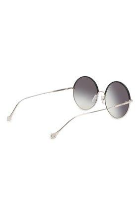 Женские солнцезащитные очки LOEWE серебряного цвета, арт. LW40008U 20B   Фото 3