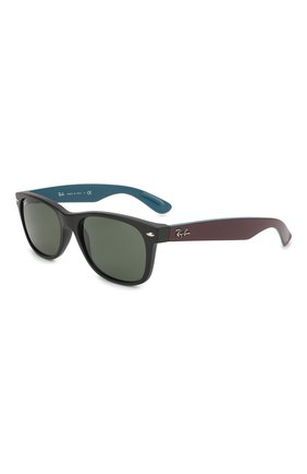 Мужские солнцезащитные очки RAY-BAN темно-коричневого цвета, арт. 2132-6182 | Фото 1
