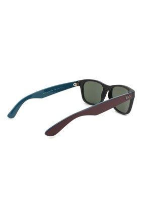 Мужские солнцезащитные очки RAY-BAN темно-коричневого цвета, арт. 2132-6182 | Фото 3