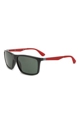 Мужские солнцезащитные очки RAY-BAN черного цвета, арт. 4228M-F60171 | Фото 1