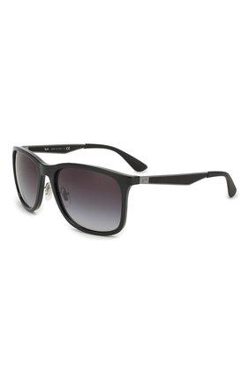 Мужские солнцезащитные очки RAY-BAN черного цвета, арт. 4313-601/8G | Фото 1