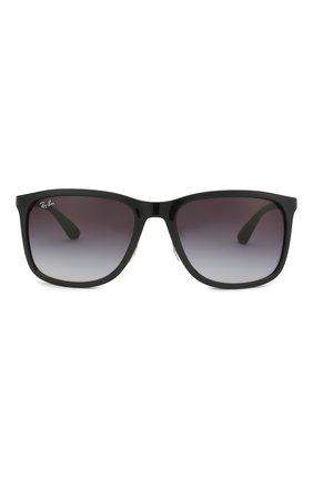 Мужские солнцезащитные очки RAY-BAN черного цвета, арт. 4313-601/8G | Фото 2