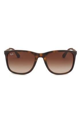 Мужские солнцезащитные очки RAY-BAN коричневого цвета, арт. 4313-894/13 | Фото 2