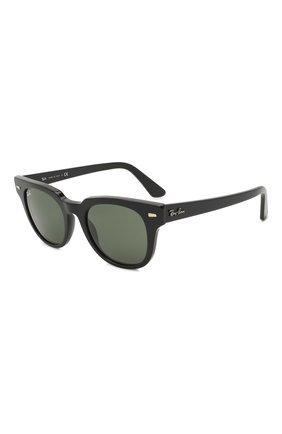 Женские солнцезащитные очки RAY-BAN черного цвета, арт. 2168-901/31 | Фото 1