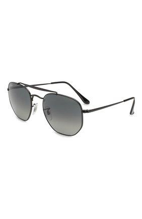 Мужские солнцезащитные очки RAY-BAN черного цвета, арт. 3648-002/71 | Фото 1