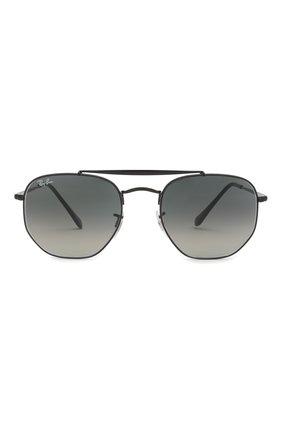 Мужские солнцезащитные очки RAY-BAN черного цвета, арт. 3648-002/71 | Фото 2