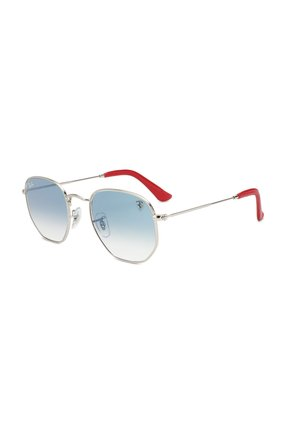 Мужские солнцезащитные очки RAY-BAN голубого цвета, арт. 3548NM-F0073F | Фото 1