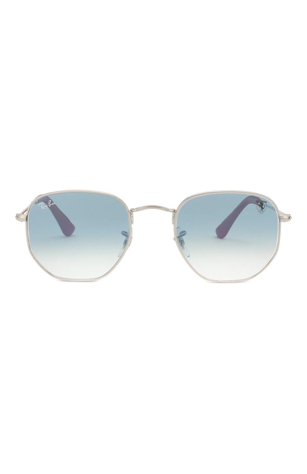 Мужские солнцезащитные очки RAY-BAN голубого цвета, арт. 3548NM-F0073F | Фото 2