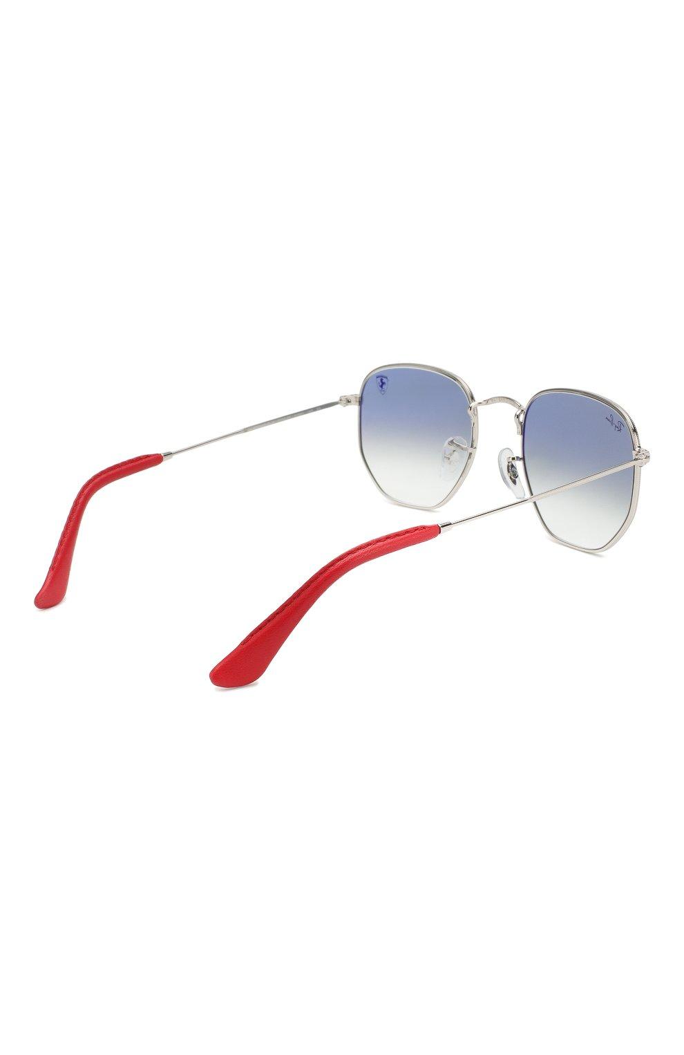 Мужские солнцезащитные очки RAY-BAN голубого цвета, арт. 3548NM-F0073F | Фото 3