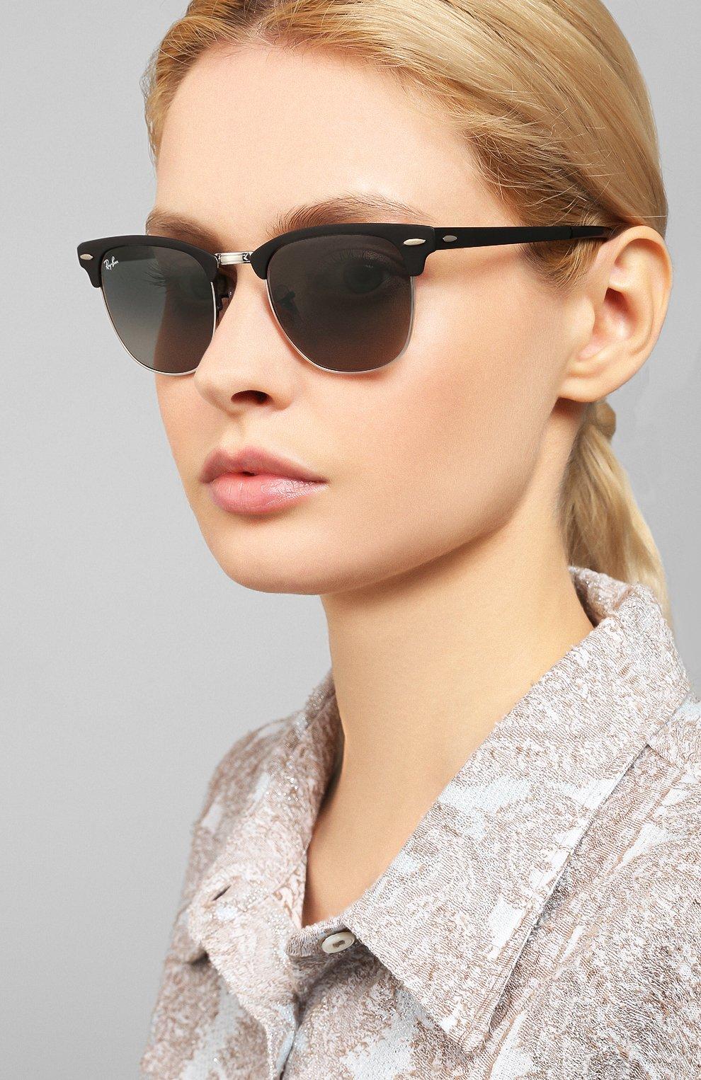 Солнцезащитные очки Ray-Ban серые | Фото №2
