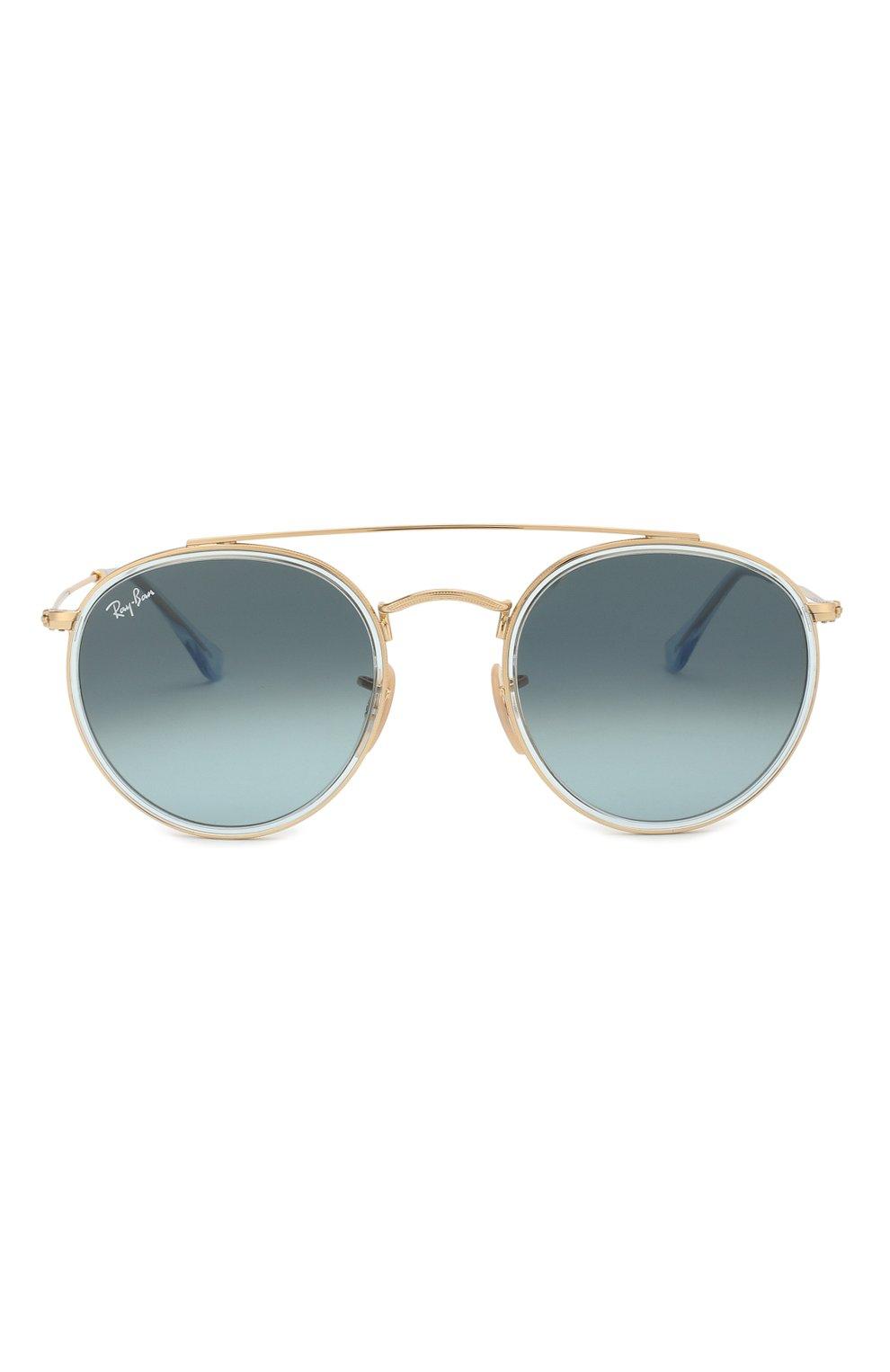Солнцезащитные очки Ray-Ban голубые   Фото №3