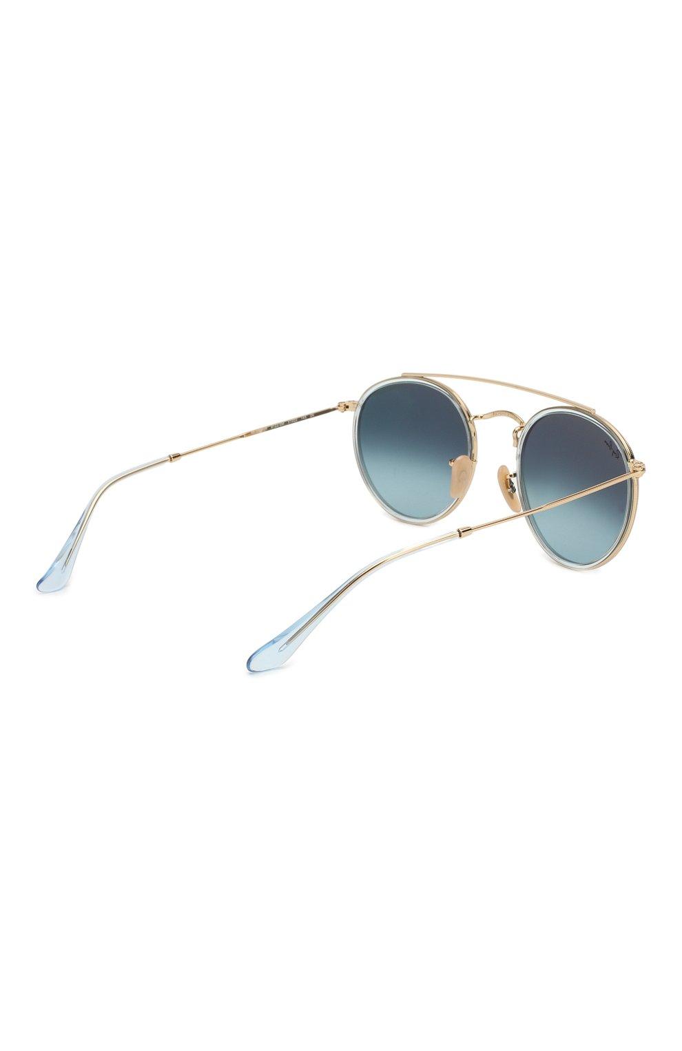 Солнцезащитные очки Ray-Ban голубые   Фото №4