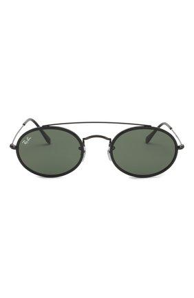 Мужские солнцезащитные очки RAY-BAN черного цвета, арт. 3847N-912031 | Фото 2