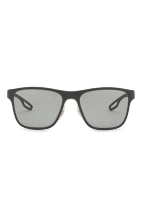 Мужские солнцезащитные очки prada linea rossa PRADA черного цвета, арт. 56QS-TIG3C2 | Фото 2