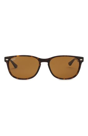 Мужские солнцезащитные очки RAY-BAN коричневого цвета, арт. 2184-902/33   Фото 2