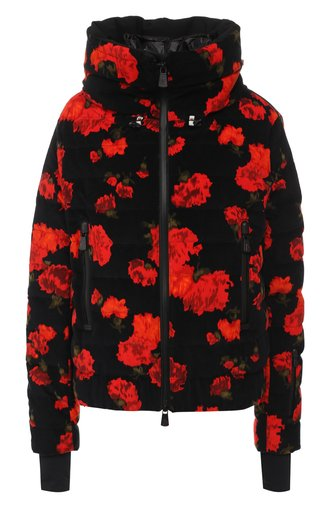Утепленная куртка Moncler Grenoble с принтом
