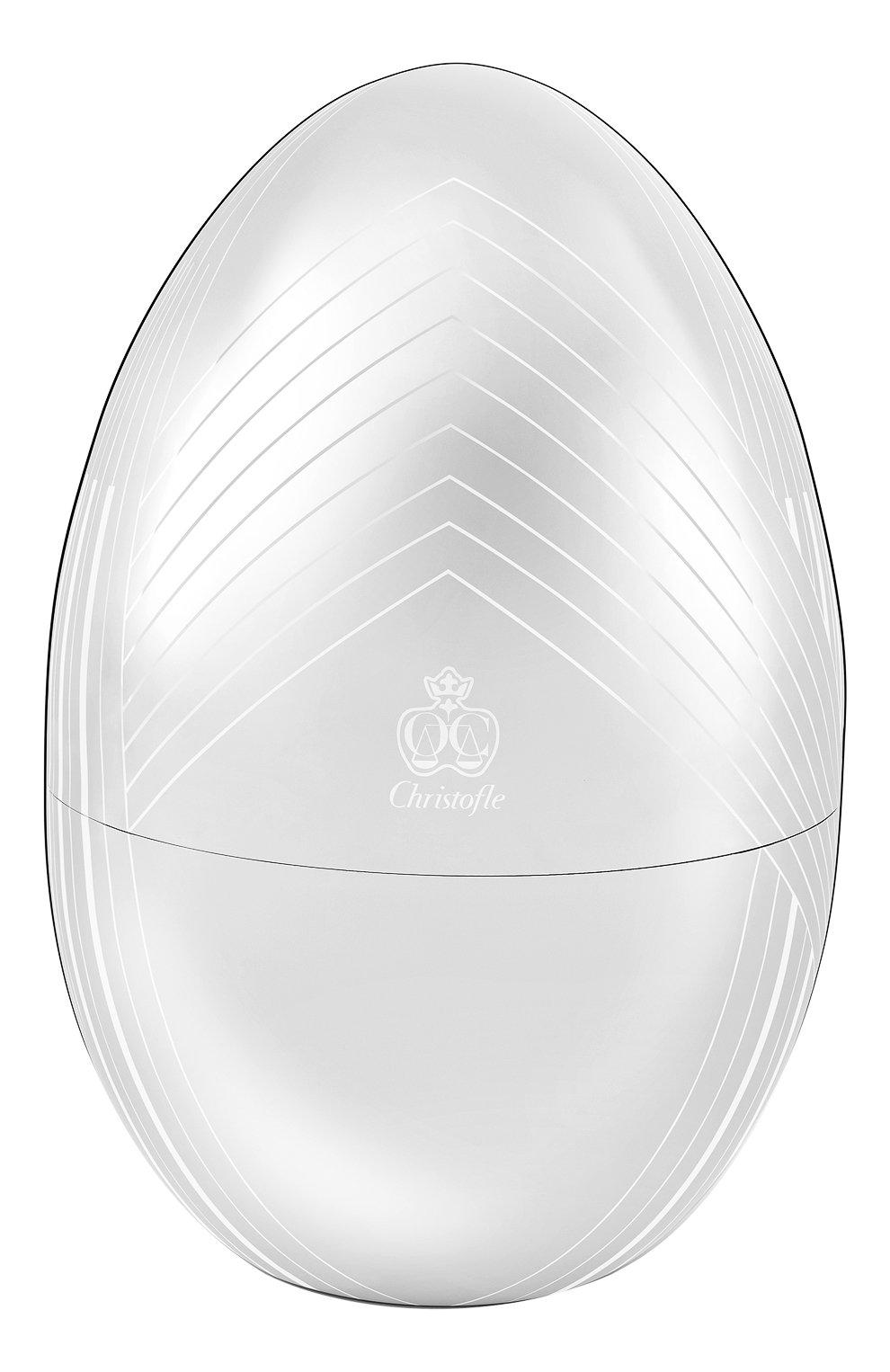Набор столовых приборов на 6 персон mood egg karl lagerfeld CHRISTOFLE серебряного цвета, арт. 00066299   Фото 1