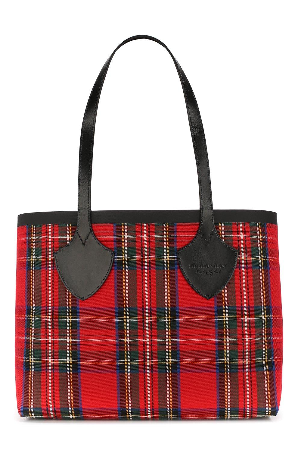 57a7012784fd Женская сумка-тоут giant BURBERRY бежевого цвета — купить за 72800 ...