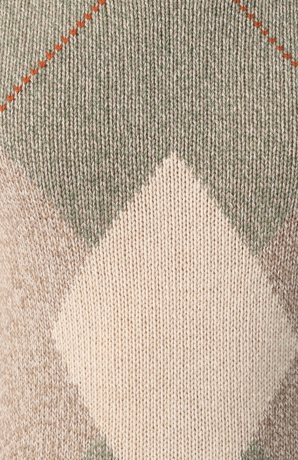 Кашемировый свитер с воротником-стойкой   Фото №5