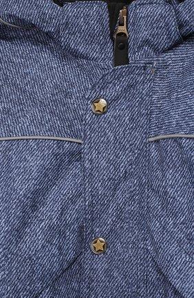 Детский комбинезон polaris с капюшоном MOLO синего цвета, арт. 5W18N202 | Фото 3