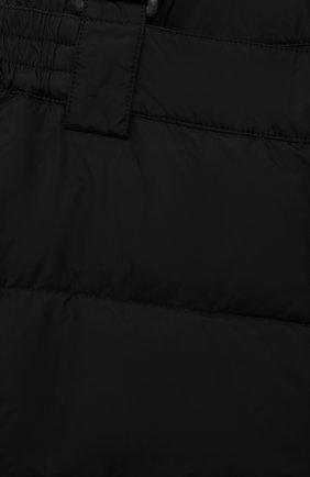 Детский утепленный комбинезон HERNO черного цвета, арт. PI0061B/12004/10A-14A | Фото 3