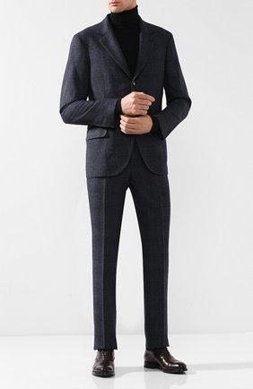 ae52ef1559998 Костюм из смеси шерсти и шелка с пиджаком на трех пуговицах | Фото №1