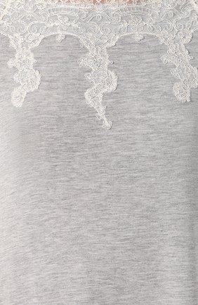 Ночная сорочка с кружевной отделкой | Фото №5