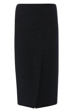 Шерстяная юбка с высоким разрезом | Фото №1
