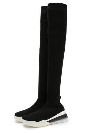 Текстильные кроссовки Loop с высоким голенищем | Фото №1