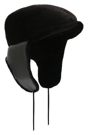 Мужская норковое кепи FURLAND черного цвета, арт. 0076802150138600000   Фото 1