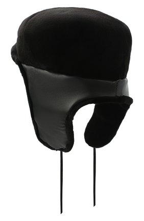 Мужская норковое кепи FURLAND черного цвета, арт. 0076802150138600000   Фото 2