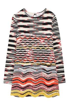 Шерстяное платье фактурной вязки | Фото №1
